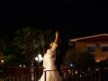 Gli sposi lanciano una lanterna cinese presso il Ristorante Rossi di Genazzano