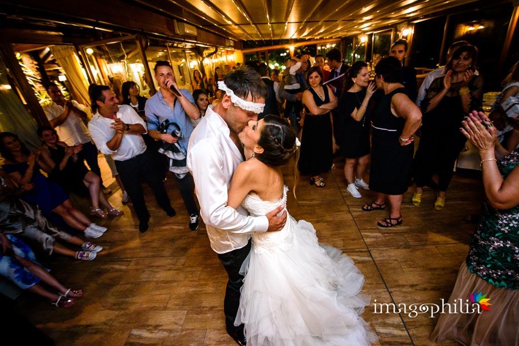 Primo ballo degli sposi al ristorante Il Fauno del Bosco di Albano Laziale