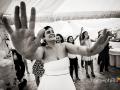 Balli scatenati dopo il matrimonio a Villa Mary, Genzano