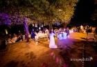 Primo ballo tra gli sposi al termine del ricevimento di matrimonio a Villa Pocci / 1
