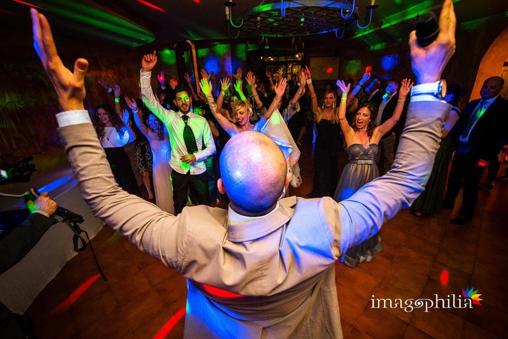 Balli scatenati durante il matrimonio al Vecchio Borgo di Grottaferrata