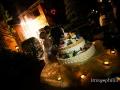 Taglio della torta nuziale presso il Vecchio Borgo di Grottaferrata