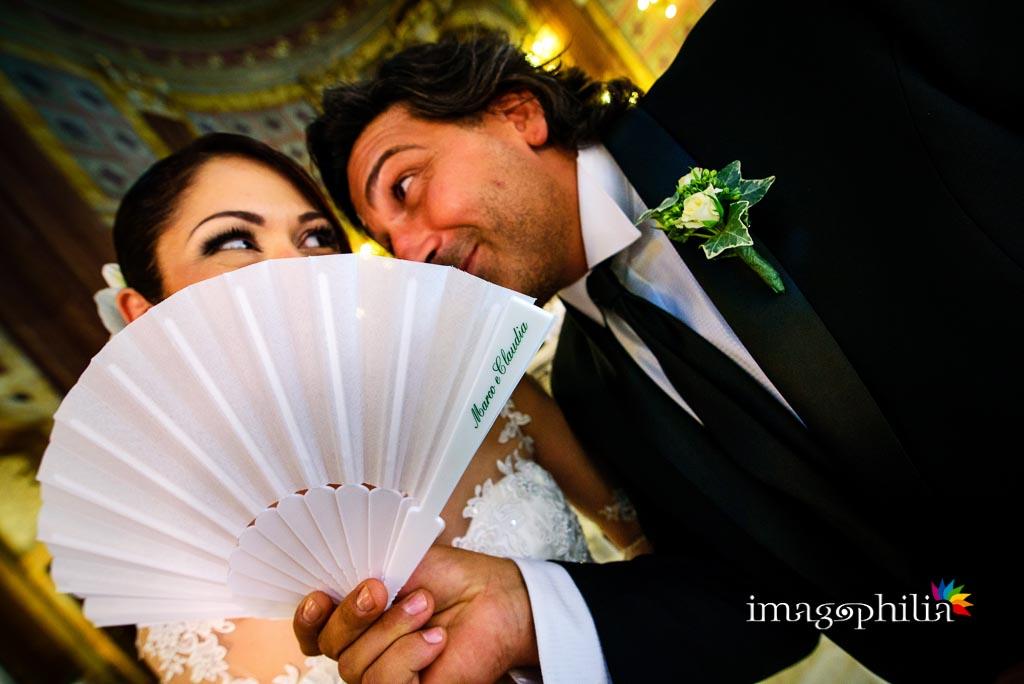 Ventaglio personalizzato per il matrimonio