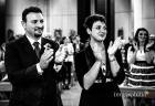 Applauso dei testimoni dello sposo