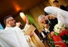 Benedizione degli sposi nella Chiesa di San Gregorio Barbarigo, Roma Eur