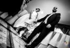 """Cambio """"tattico"""" di calzatura per la sposa durante il ricevimento di matrimonio al Ristorante da Benito al Bosco, Velletri"""
