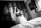 La sposa è pronta per uscire