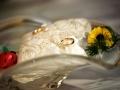Matrimonio a Fonte Nuova, dettaglio delle fedi