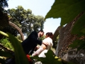 Gli sposi a Parco Chigi ad Ariccia