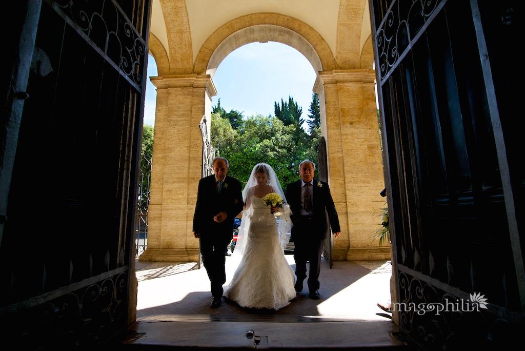 Matrimonio a Roma / Ricevimento a Grottaferrata