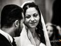 Sguardo della sposa nella Chiesa di San Silvestro a Montecompatri