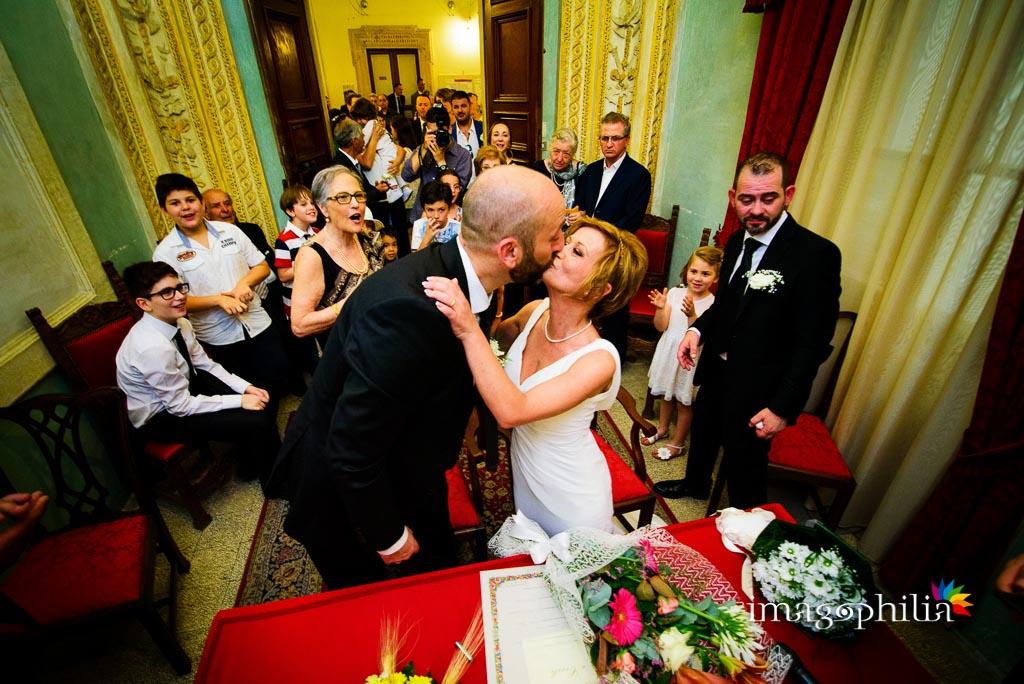 Matrimonio civile a Palazzo Orsini, sede del comune di Monterotondo