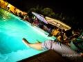 """Gli invitati al matrimonio sono in """"ammollo"""" nella piscina di Villa Gianni a Roma"""