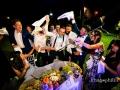 Matrimonio scatenato nella Villa Antico Melograno a Roma