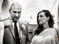 Consensi e promesse tra gli sposi durante il matrimonio nella Chiesa di Santa Maria Maggiore a Lanuvio