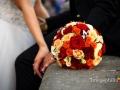 Dettaglio del bouquet della sposa