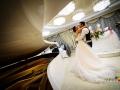 Primo ballo degli sposi nella Villa il Lago dei Cigni di Roma