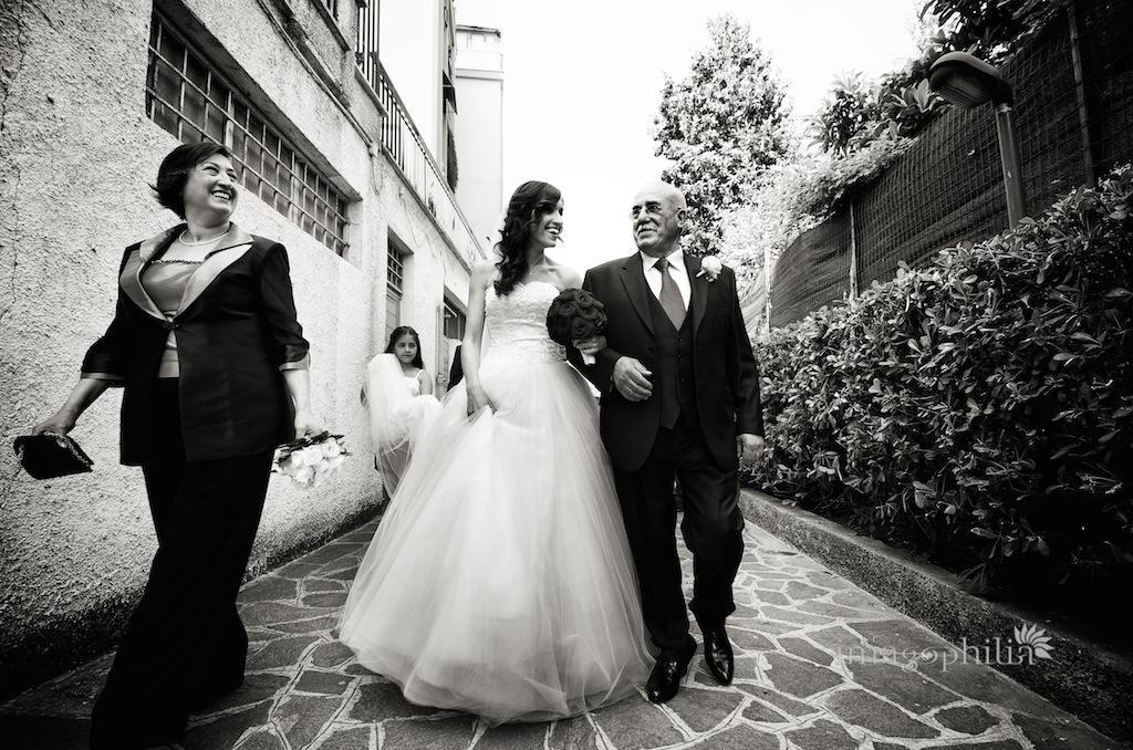 Matrimonio ad Ariccia / Ricevimento a Grottaferrata