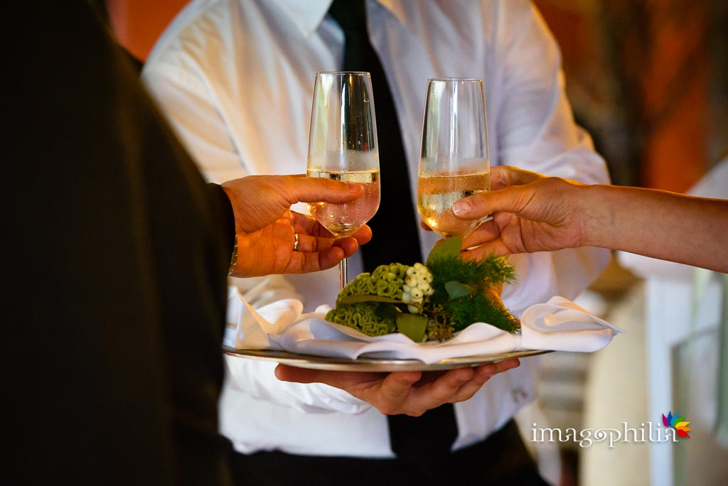 Aperitivo di benvenuto per gli sposi ai Casali Margherita a Roma