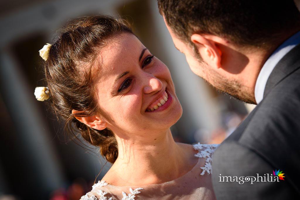 Post matrimonio: ritratto della sposa