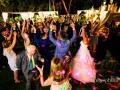 Balli durante il ricevimento con musica dal vivo a Villa Augusta ad Ariccia