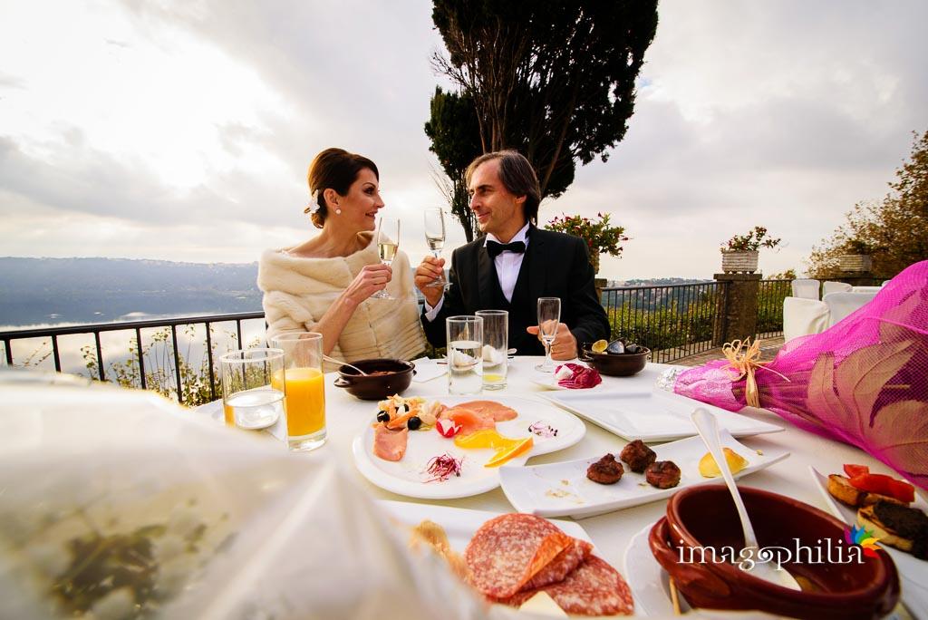 Ricevimento di nozze a Villa Pocci a Marino