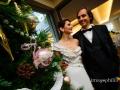 Matrimonio poco prima di Natale con ricevimento a Villa Pocci a Marino