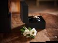 Dettaglio della boutonniere dello sposo