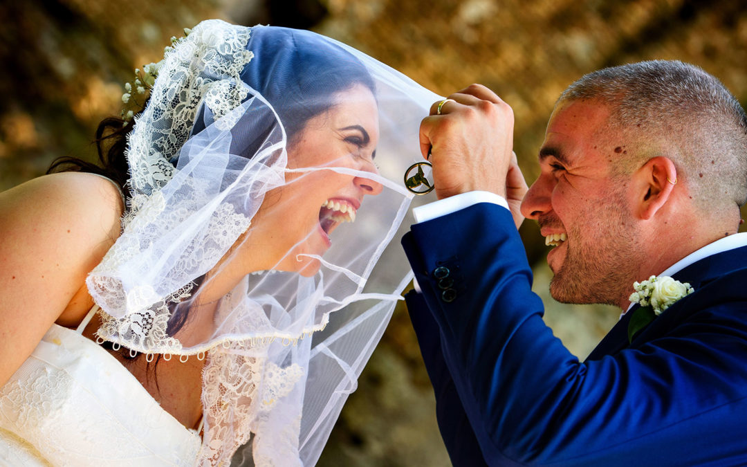 Matrimonio civile a Vignola Mattei (Caracalla, Roma)