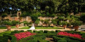 Servizio fotografico di matrimonio alle Ville Pontificie di Castel Gandolfo