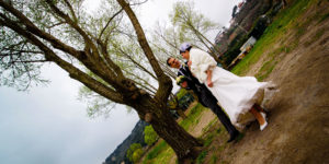 Matrimonio sul lago di Castel Gandolfo