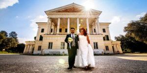 Sarah e Cristiano, matrimonio a Fonte Nuova, Villa Sesterzi