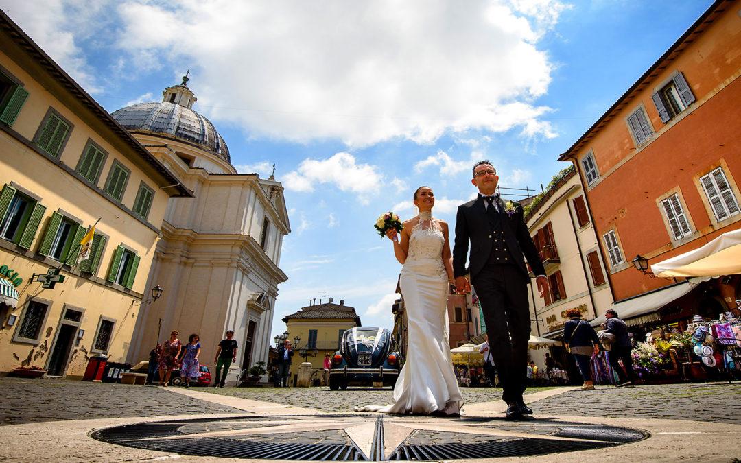 Matrimonio a Castel Gandolfo, San Tommaso da Villanova