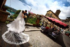 Matrimonio ai Castelli Romani (Grottaferrata, Nemi, Rocca di Papa, lago di Castel Gandolfo)