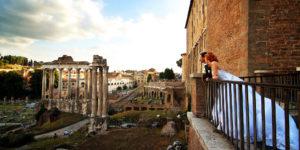 Fotografi per matrimonio a Roma