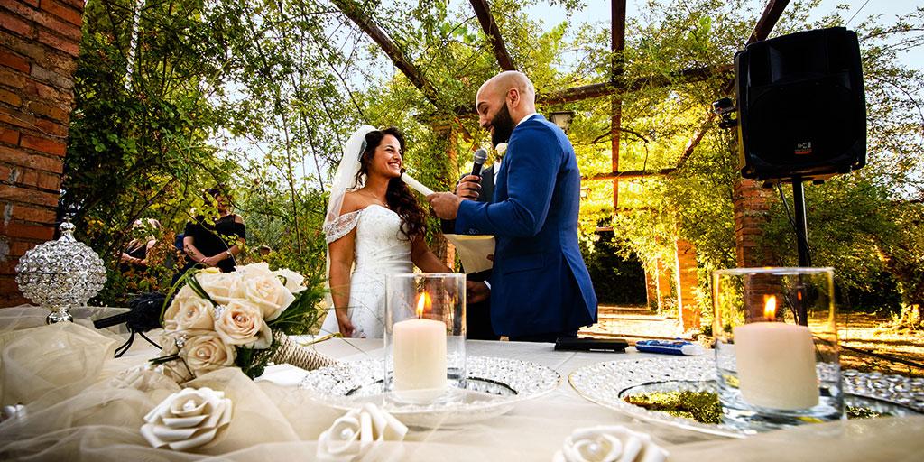 Matrimonio alla Villa dei Volsci di Velletri