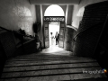Gli sposi all'ingresso del Comune di Lanuvio