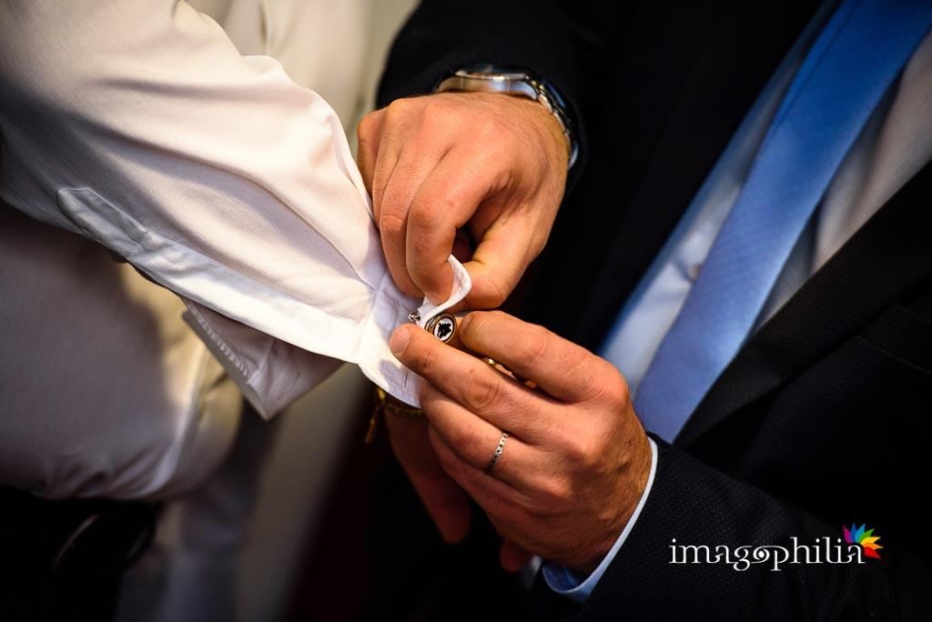 Il gemello dello sposo rivela la sua fede giallorossa