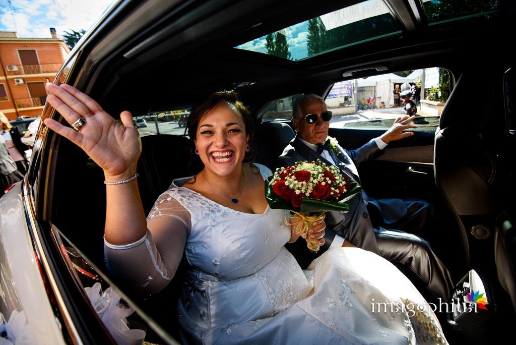 Saluti regali subito prima del matrimonio