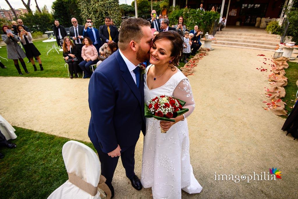 Ciak! Si comincia! Gli sposi s'incontrano durante il matrimonio al New Green Hill di Roma