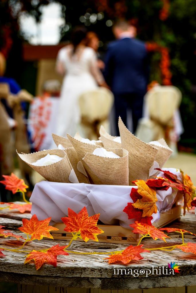 Conetti di riso durante il matrimonio al New Green Hill di Roma