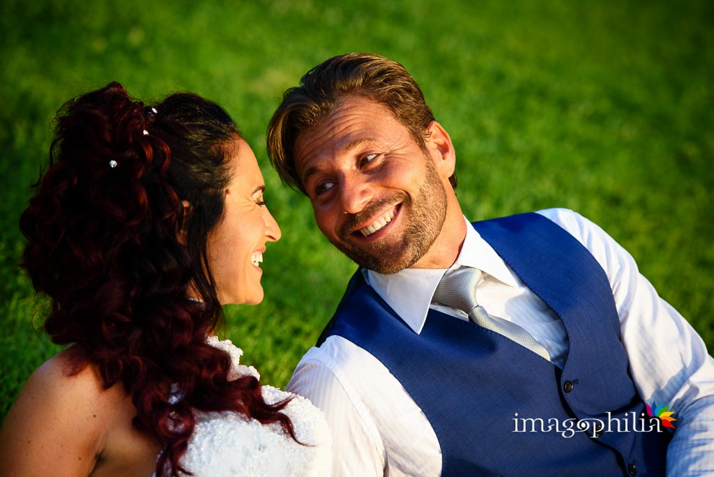 Ritratto dello sposo dopo il matrimonio a La Collinetta Eventi di Vermicino (Roma)