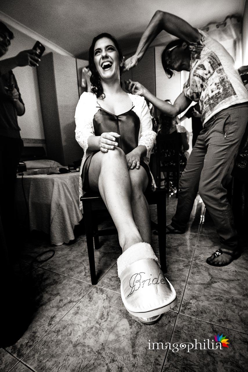 Le pantofole da sposa!