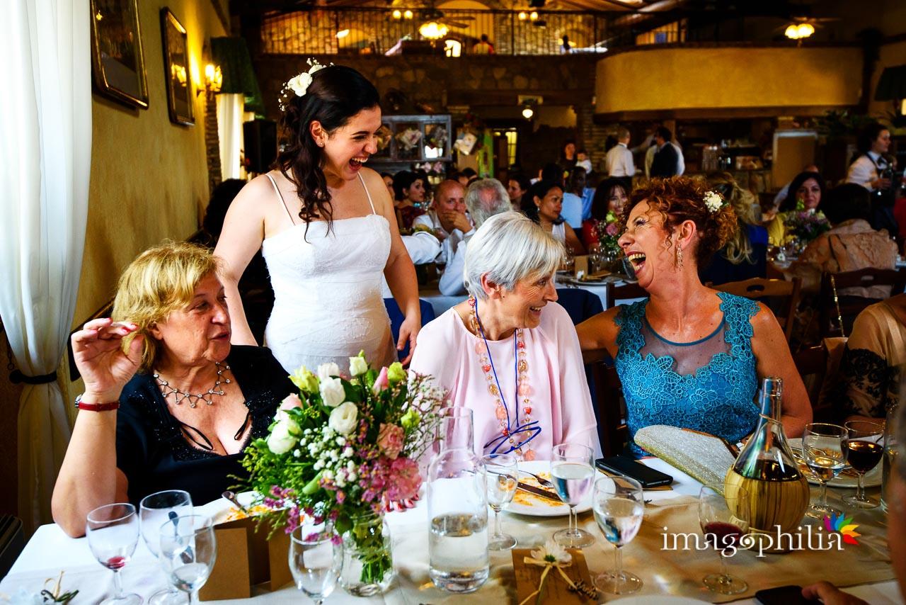 Momenti vari durante il ricevimento di matrimonio al Borghetto d'Arci (agriturismo a Passo Corese) / 1