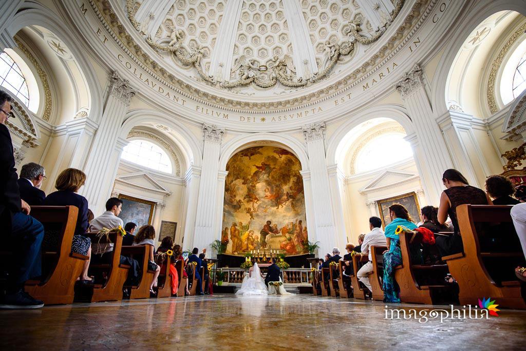 Matrimonio a Santa Maria Assunta in Cielo ad Ariccia e ricevimento alla Tenuta Pantano Borghese di Monte Compatri
