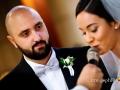Ritratto dello sposo durante la promessa della sposa nella Chiesa di San Gregorio Barbarigo, Roma Eur