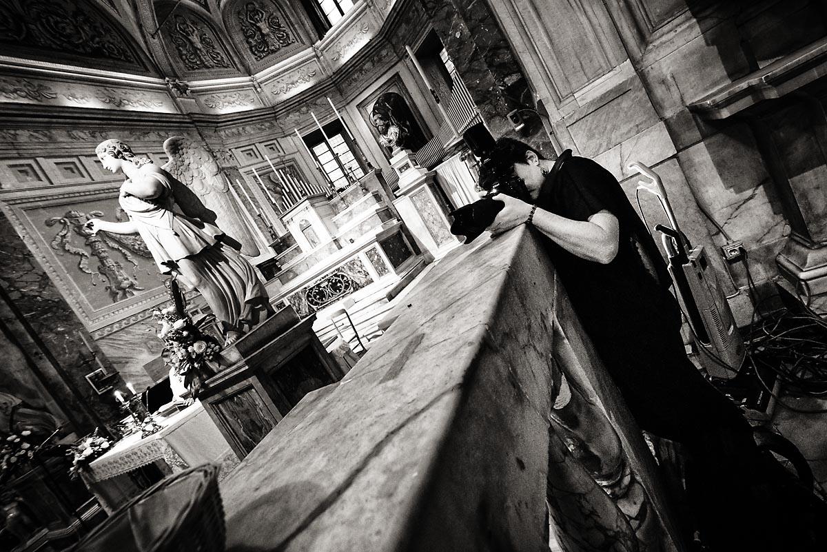 Margherita alla Chiesa di San Pietro in Montorio