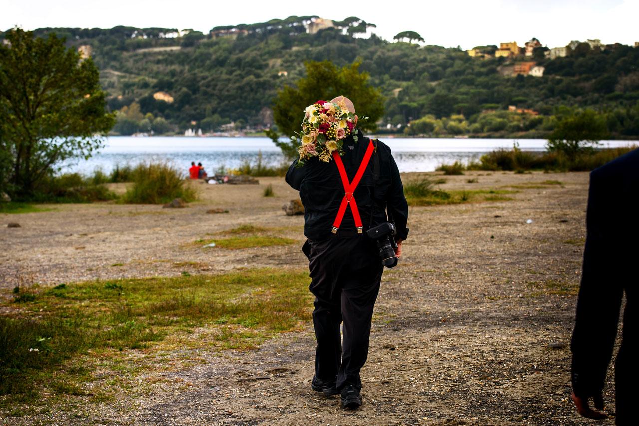 Leonardo, portatore di bouquet