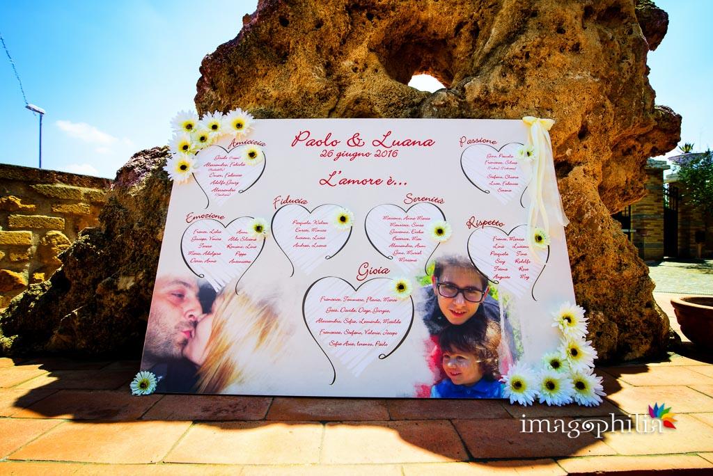 "Tableau in tema ""L'amore è..."" nella Tenuta Gran Paradiso di Palombara Sabina"
