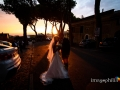 Tramonto suggestivo per gli sposini al borgo di Castel Gandolfo